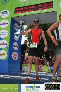 Thomas Switala Finish Ironman Zell am See